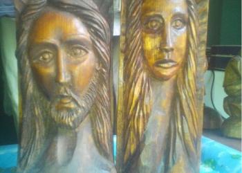 резные статуэтки