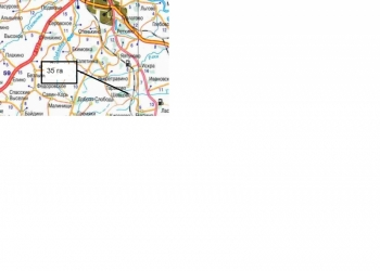 Продаю (сдам) участок с.х. назначения 35 га, 3 млн. руб., у д. Шевцово