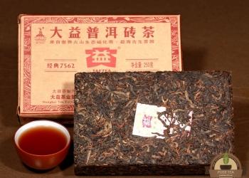 Чай Шу- пуэр(пуер) выдержка 2012г.