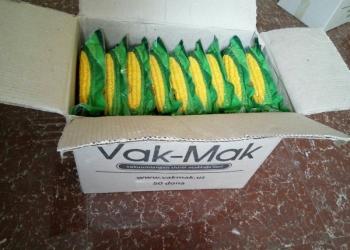 Сахарная кукуруза Vak-Mak в вакуумной упаковкe