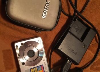Цифровой фотоаппарат Sony dsc-w70.