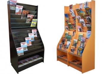 Стеллажи для журналов и газет