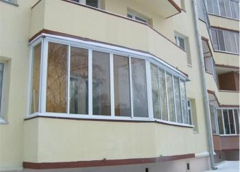 Лоджии и балконы остекление и отделка
