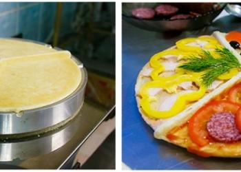 Печи и витрины для разных видов пиццы (коно, мерседес, классическая)
