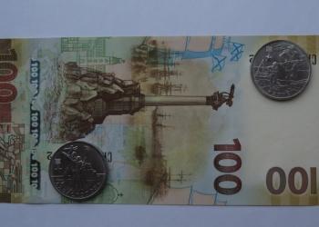 100 рублей 2015 + КЕРЧЬ и СЕВАСТОПОЛЬ