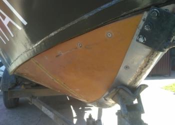 Подготовленная лодка Крым-Водомёт