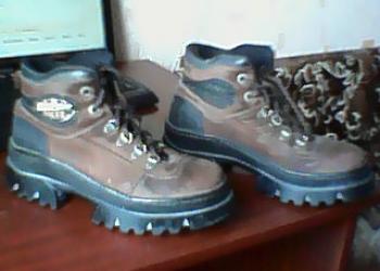 Ботинки кожанные Kelmer