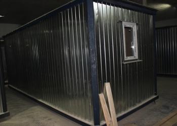 Бытовка/ Вагончик строительный 6х2.4m