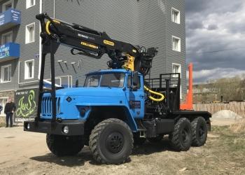 Лесовоз Урал 55571, 2018 г.в. с манипулятором VM10L74Палфингер