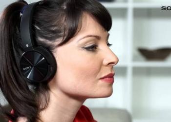 Беспроводные наушники Bluetooth-наушники с микрофоном Sony MDR-ZX330BT