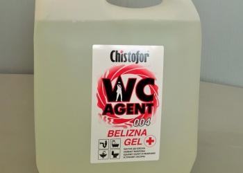 Белизна гель Chistofor WC Agent 004 пэк 5л.