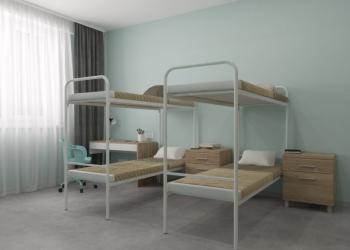 Производства и продажа мебели для хостелов и общежитий из металла и ЛДСП в Хабар