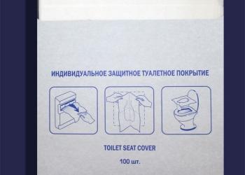 Туалетное покрытие на унитаз 1/4 сложения  для держателя MERIDA, ASTER, LIME ,