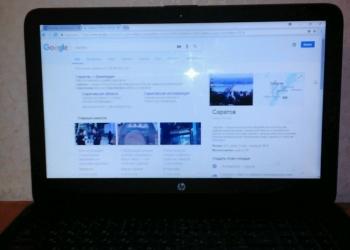"15.6"" Ноутбук HP 15-ac002ur"