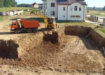 Заливка фундамента, монтаж блоков плит в Пензе, фундаменты