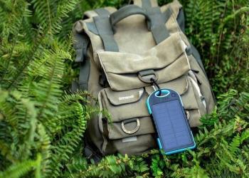 Зарядное устройство с солнечной панелью
