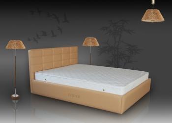 Интерьерная кровать 160x200 с бельевым ящиком