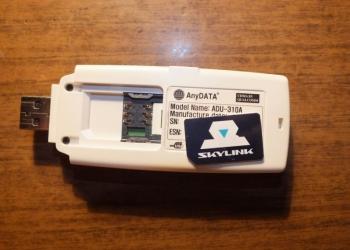 Продаю модем SkyLink AnyData ADU-310A