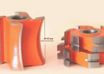Фреза для обшивочной доски блок-хаус(block-house) 140*40*130 HSS