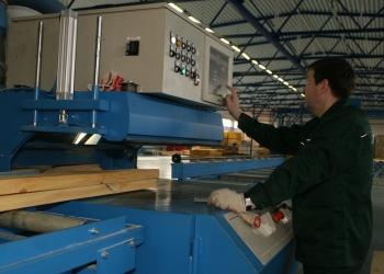 Деревообрабатывающий завод (производство каркасно-панельных домов)