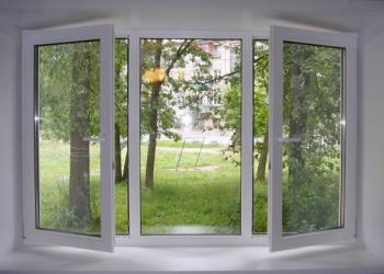 Изготовим пвх окна и двери, витражи, перегородки.
