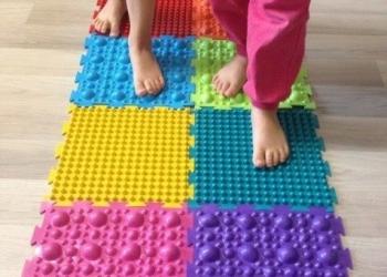Массажные коврики Орто - поштучно и комплектами