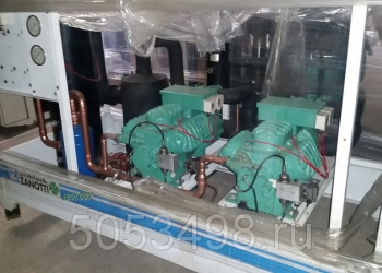 холодильное оборудование-6H-35.2Y двухкомпрессорная централь