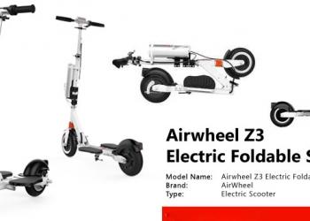 Электросамокат Airwheel Z3 новый