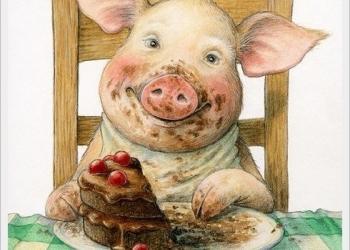 Просрочка хлеба, для свиней