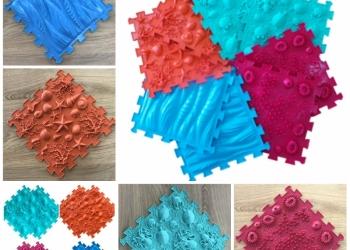 Микс Море - массажные коврики ОртоПазл для детей от 1 года