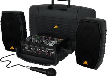 Аренда компактной звукоусилительной системы