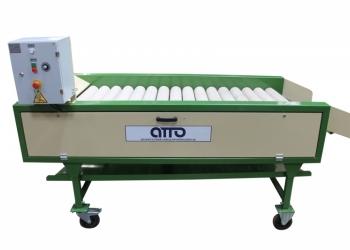 оборудование для сушки картофеля и овощей после мойки УСФ-10 (фетровая сушка)