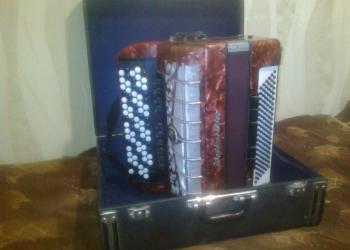 Пятирядный аккордионированный баян Weltmeister Grandina (Германия – ГДР)