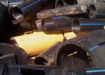 Скупаем пластиковые отходы ПНД труб  Дорого!