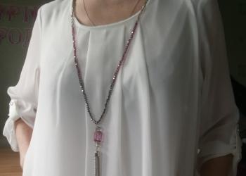 Блузка Canda с бижутерией