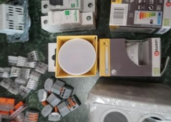 Остатки материалов для электромонтажа