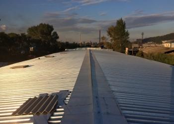 Кровельщики. Делаем крыши промышленных помещений.