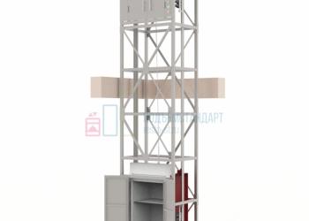 Сервисный лифт подъемник для еды,посуды,продуктов,белья РЕСТО от ПОДЪЁМСТАНДАРТ