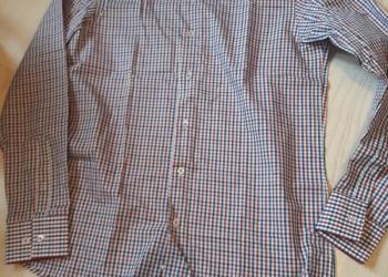 Хлопковая мужская рубашка, р.М (З9-40 ворот)