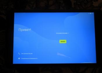 Отличный планшет Lenovo TB-8704X с чехлом