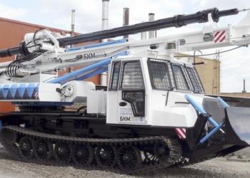 Бурильно крановая машина БКМ-2032