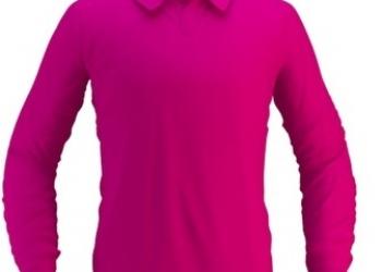 Сорочка поло с длинным рукавом(Мужская,женская)