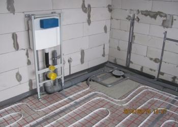 монтаж отопления водопровод