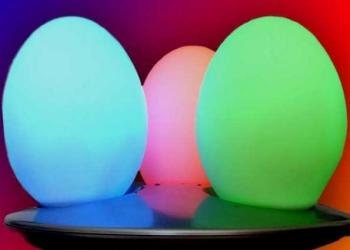 Светильник настольный Спектр 3А светится как драгоценные камни