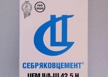 """Цемент от АО """"Себряковцемент"""" г. Михайловка"""