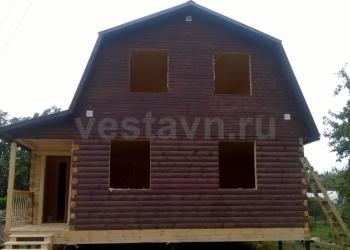Строю дома из профилированного бруса