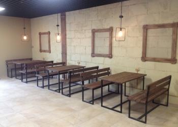 Мебель для кафе баров и ресторанов в стиле ЛОФТ.