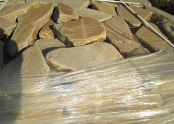 Камень Фисташка галтованный природный натуральный