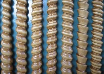 Деревянная косичка для отделки мебельных фасадов