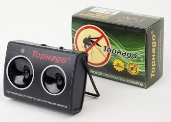 Средство Торнадо ОК.01 ультразвуковой электронный отпугиватель комаров и мошки